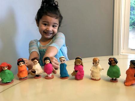 DIY Princess Dresses for Disney Week