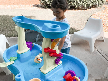 Water Fun for Teach My Toddler Tuesday