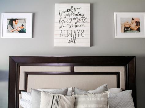 Master Bedroom Refresh