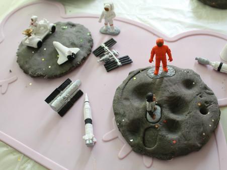 Galaxy Dough Space Activity