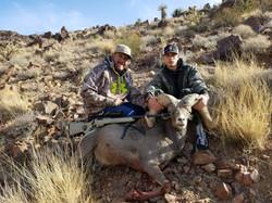 Nevada Ram taken at 550 Yards