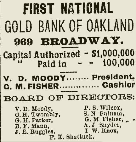 Oakland Daily Evening Tribune 7 April 1877