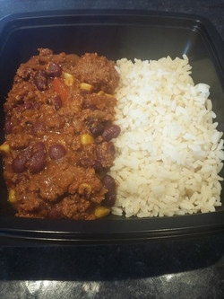 Chili corn carné