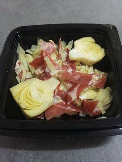 Salade artichaut-coppa