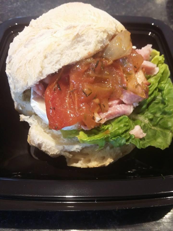 Mini sandwich au chèvre