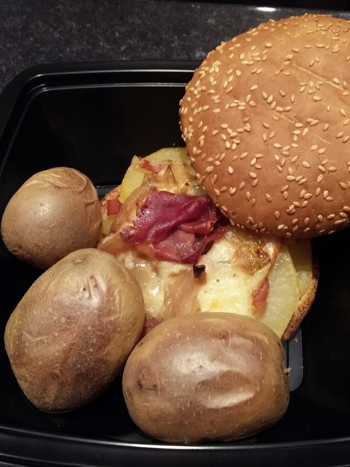 Burger raclette
