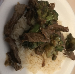 Beef and Broccili W/ Rice