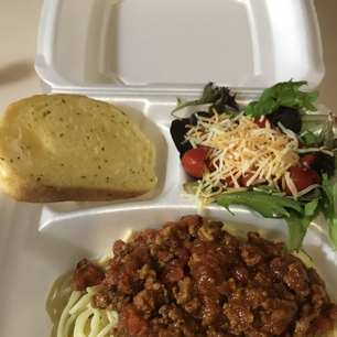 Spaghetti Dinner Plate