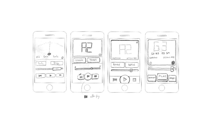 wireframe process app