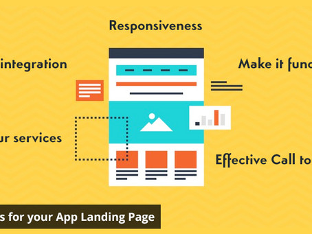 5 Quick Tips for your App Landing Page