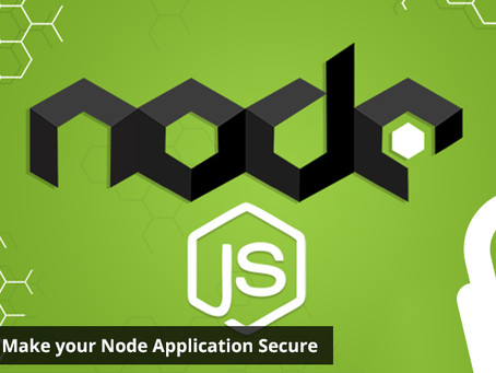 13 Ways to Make your Node Application Secure