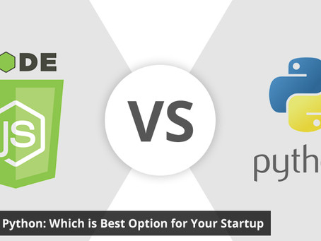 Node.JS vs Python: Which is Best Option for Your Startup