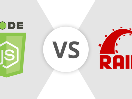 Node.js vs Ruby on Rails (Infographic)