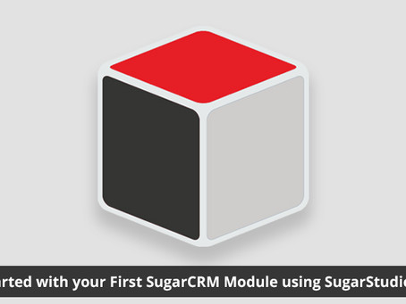Getting Started with your First SugarCRM Module using SugarStudio