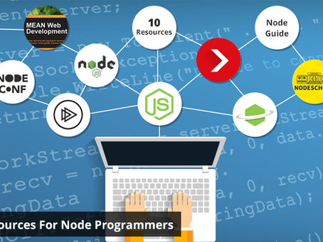 Best Resources for Node.JS Programmers | List