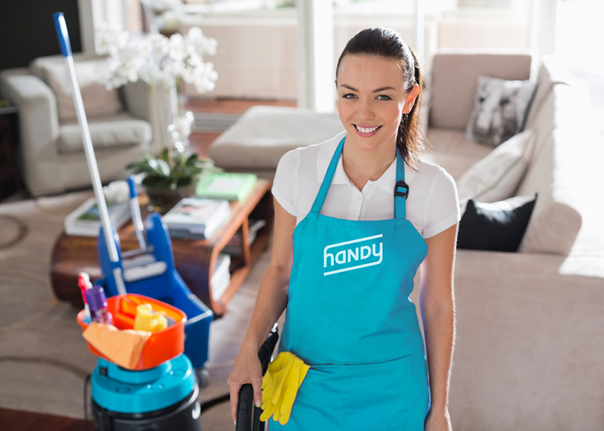 On demand home cleaning