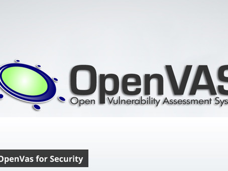 Review of OpenVas for Security