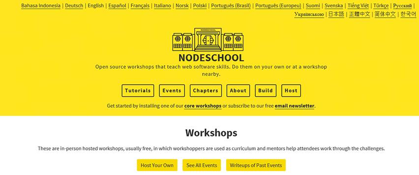 nodeschool-node js-resource