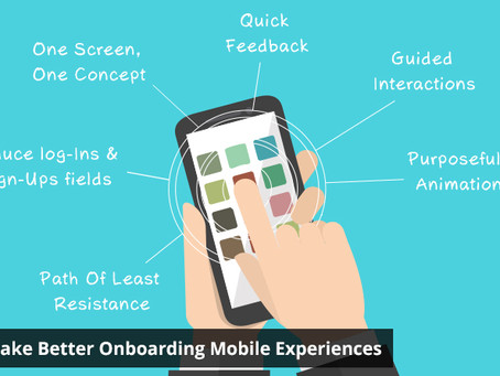 6 Tips To Make Better Onboarding Mobile Experiences