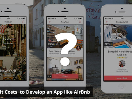 How Much it Costs  to Develop an App like AirBnb