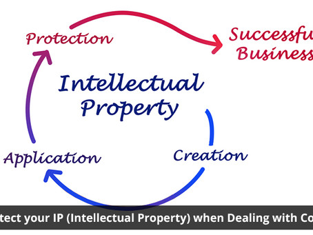 How to Protect your IP (Intellectual Property) when Dealing with Contractors