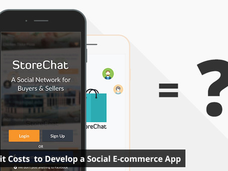 How Much it Costs  to Develop a Social E-commerce App