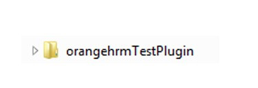 OrangeHRM Plugin name