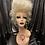 Thumbnail: Blonde shaggy updo