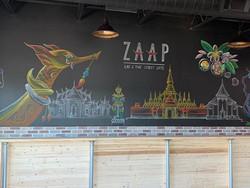 Chalkboard of Lao & Thai culture