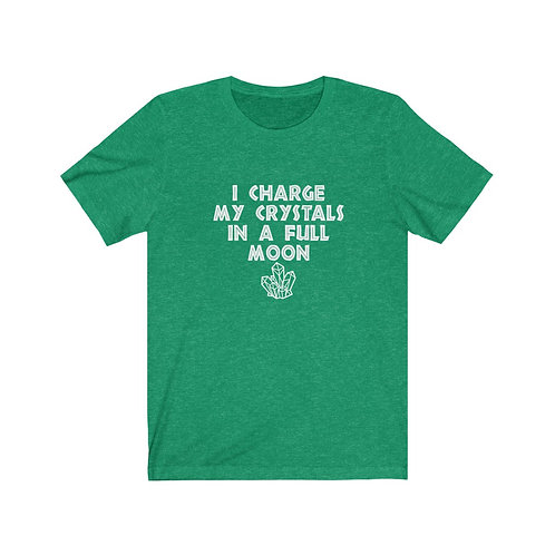 Charge Crystals Tee