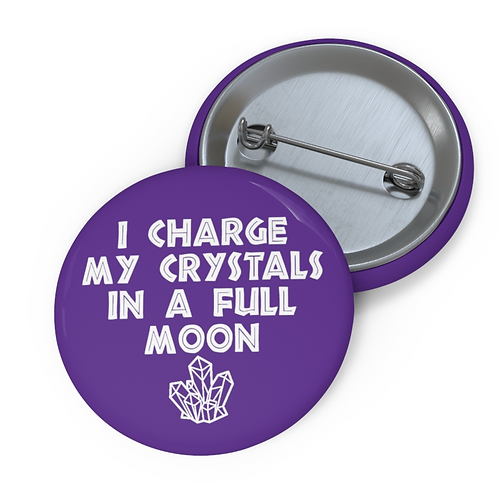 Charge Crystals Button