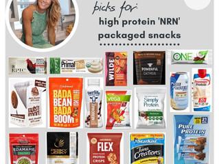 High Protein Snacks - No Refrigeration Needed