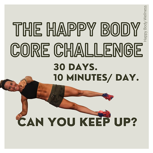 The 30 Day Core Challenge