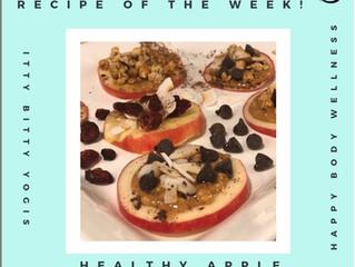 """Healthy Apple """"Cookies"""""""