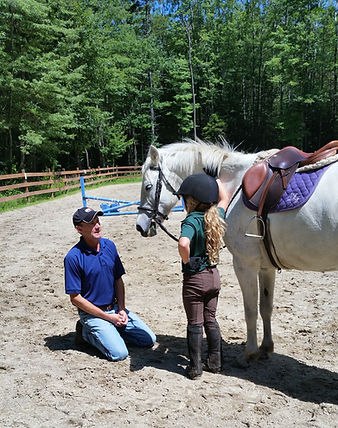 Riding Lessons | Floyd Woods Farm | New Hampshire