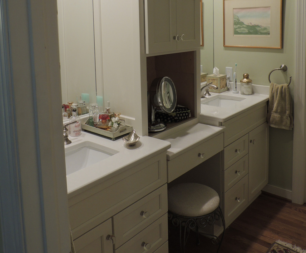 Lovely His & Hers Vanity