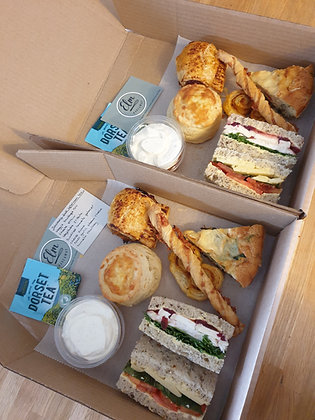 Savoury Full Afternoon Tea (per person)