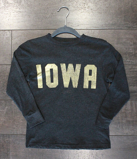 Iowa Foil Long Sleeve Shirt