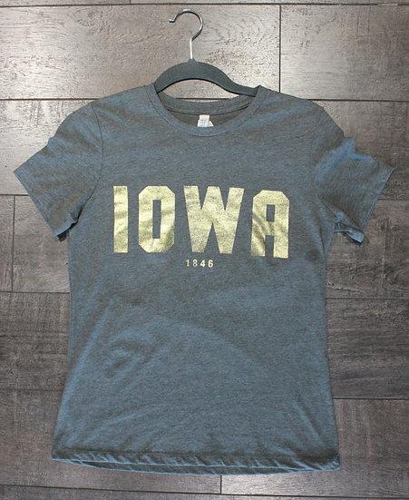 Iowa Foil Tee