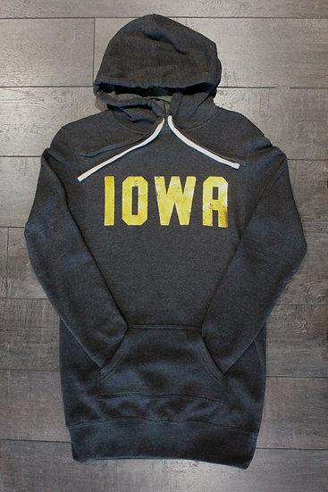 Iowa Long Body Sweatshirt (Foil)
