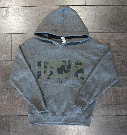 Iowa Camo Sweatshirt