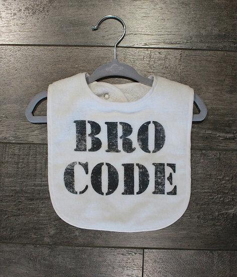 Bro Code Bib