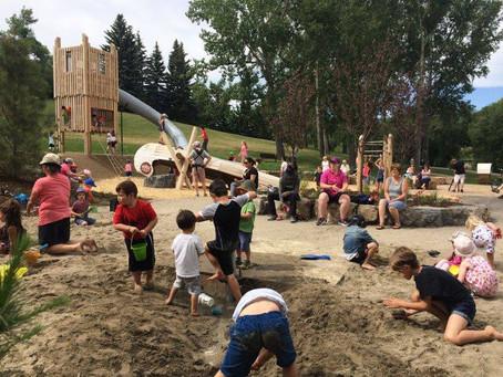 Calgary's Own 'Junk' Playground!