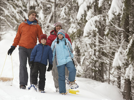 10 ways to beat the January blahs through outdoor play