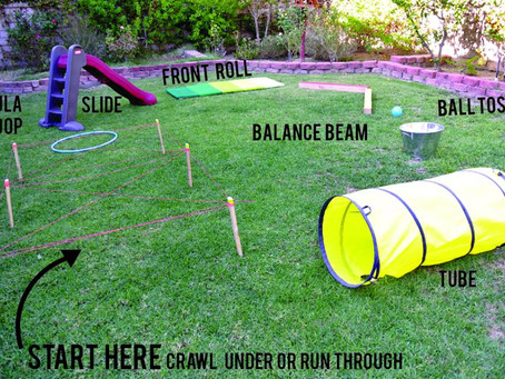 Obstacle course for your back yard!