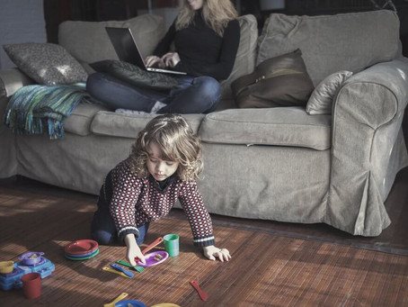 42 easy activities to keep kids busy while parents work at home