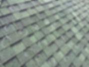 hail impact damage on roof