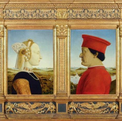 Duke & Duchess of Urbino, Piero della Fr
