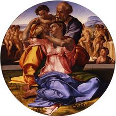 Michelangelo, Holy Trinity