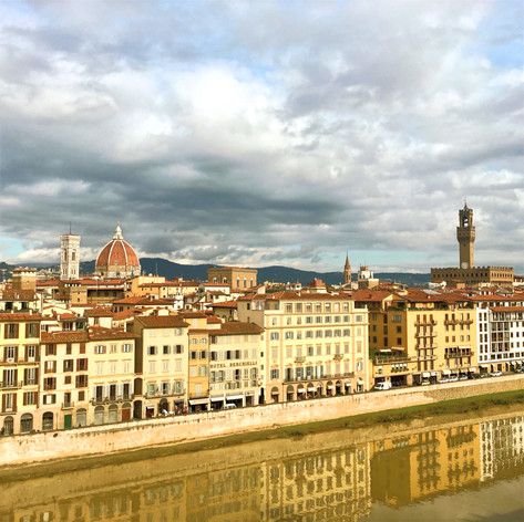Florence after a storm from Altro Arno